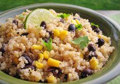 Featured Recipe: Quinoa & Black Beans