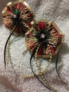 Items similar to 2 Plaid Gold Hair Bows, Iridescent Fishnet on Etsy Handmade Hair Bows, Handmade Gifts, Gold Hair Bow, Satin Flowers, Heavenly, Iridescent, Brooch, Wreaths, Jewels