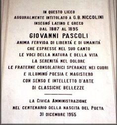 Pascoli a Livorno