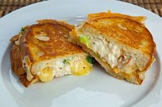 Lobster Grilled Cheese Sandwich. Oh my!