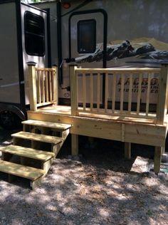 Trailer deck/stairs