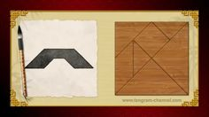 Tangram Bridge - Visit http://www.tangram-channel.com/ for lots more tangram puzzles