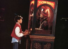 The Boy From Big Recreates Famous Zoltar Scene