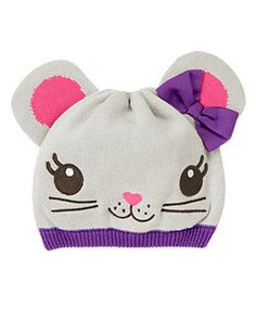 Bow Mouse Sweater Hat