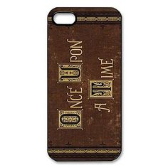 EUR € 2.99 - Once Upon a Padrão Tempo de plástico duro para o iPhone 5/5S, Frete Grátis em Todos os Gadgets!