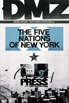 DMZ cover - Brian Wood