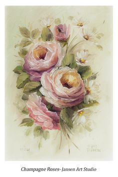 DVD1057 Champagne Roses.