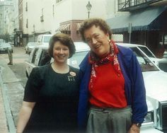Julia Child-a true food and television pioneer.  Love her!