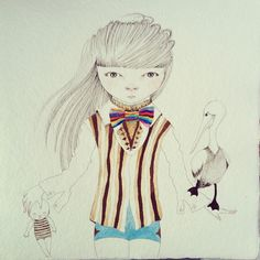 .@Ivana Flores | the girl's doll and the pelican wip in venice beach (California ) | Webstagram - the best Instagram viewer
