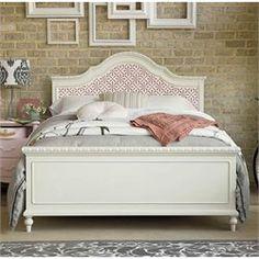 Smartstuff Bellamy The Trellis Full Size Bed in Daisy White
