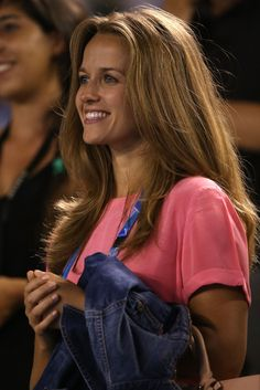 Kim Sears Photos: Australian Open: Day 4