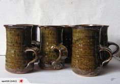mugs Pots, Van, Pottery, Magic, Tableware, Hall Pottery, Ceramics, Dinnerware, Jars