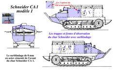 1916 CHAR SCHNEIDER CA-1
