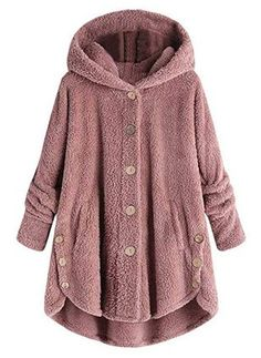 Shop a great selection of LEXUPA Fashion Women Button Coat Fluffy Tail Tops Hooded Pullover Loose Sweater. Find new offer and Similar products for LEXUPA Fashion Women Button Coat Fluffy Tail Tops Hooded Pullover Loose Sweater. Ärmelloser Mantel, Bear Coat, Bear Jacket, Hooded Jacket, Hooded Coats, Cape Jacket, Hooded Cardigan, Sweater Cardigan, Coats For Women