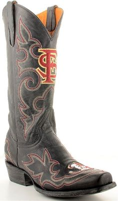 Mens Gameday Boots Florida State Seminoles