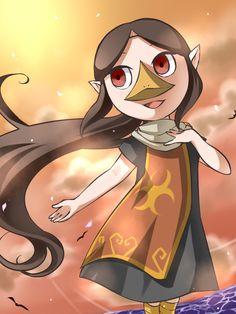 The Legend of Zelda: The Wind Waker, Medli / 「メドリん」/「わさび」のイラスト [pixiv]