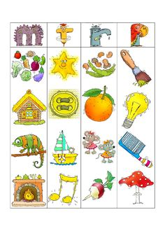 fiche son image Sons Initiaux, Teaching French, Literacy, Education, School, Voici, Printables, Crochet, Early Education