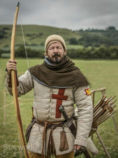 English archer just in a nick of time the Kings best archers have arrived.