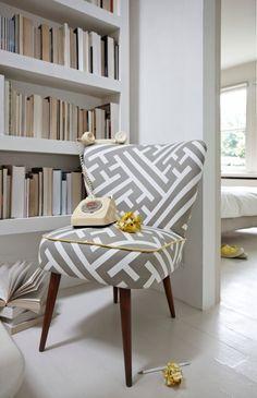 Genovesa Chair in Grand Lattice Mushroom