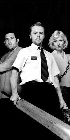 Nick Frost - Simon Pegg - Kate Ashfield - Shaun of the Dead