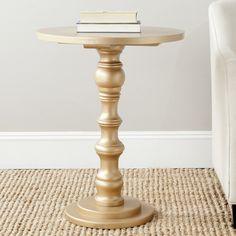 $161 atgstores.com Safavieh Furniture AMH6603 Greta Accent Table | ATG Stores