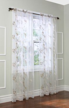 Beatrice Sheer Single Curtain Panel