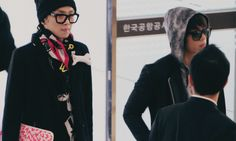 Airport Fashion. SHINee(Kpop) - Members: Jonghyun and Key