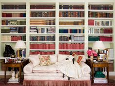 I want a reading room like Oprah.....