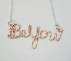 Totally need 1 of these - Be You Necklace