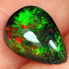 """Thanks for the kind words! ★★★★★ """"Absolutely gorgeous cabs, genuine black opal, 5 STARS!"""" Olga M. http://etsy.me/2CH0FPW #etsy #jewellery #Blackopal #ethiopianopal #naturalgemstones #mineral #crystal"""