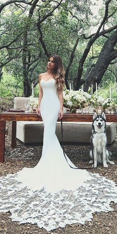 Strapless Wedding Dresses Which You Need To See ❤ See more: http://www.weddingforward.com/strapless-wedding-dresses/ #weddings