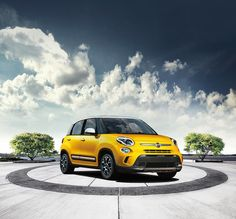 Duża 500-ka, idealna na naprawdę duuuże potrzeby! #Fiat500L #Fiat