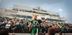Bearcat Stadium...Home of the Northwest Missouri State University Bearcats and my alma mater