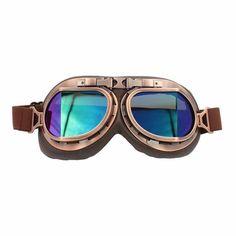 Steampunk Aviator Goggles - - 5