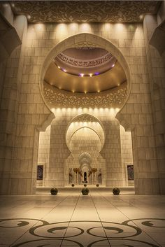 Mosque in Dubai Islamic Architecture, Gothic Architecture, Amazing Architecture, Architecture Details, Interior Architecture, Art Tumblr, Seaworld Orlando, Beautiful Mosques, Grand Mosque