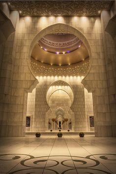 Masjid Al-Sheikh Zayed, Abu Dhabi