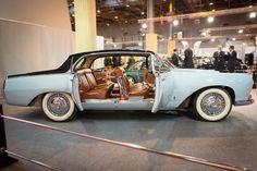Lancia Florida Pinin Farina Berlina 1655 : Salon Rétromobile 2015: les plus belles voitures de collection - Linternaute.com Automobile
