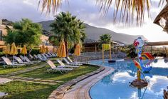 The Village Resort & Waterpark Children's pool Crete Holiday, Niagara Falls, Golf Courses, Waterfall, Hotels, Travel, Outdoor, Crete, Outdoors