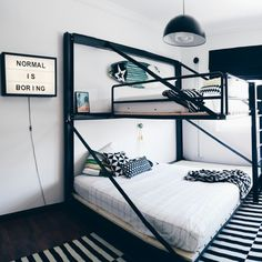 Stapelbed in de kinderkamer - THESTYLEBOX