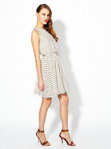Alice + Olivia Polka Dot Dress.
