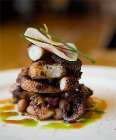 Grilled Octopus Recipe | Chef Mario Batali of B & B Ristorante, Las Vegas