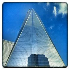 Great view on the way in! #WTC #NYC #Strength