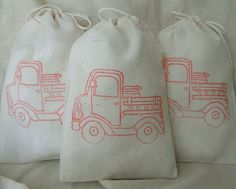 Cotton Muslin Drawstring Bags
