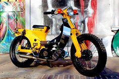 Scooter Motorcycle, Moto Bike, Custom Headlights, Mini Chopper, Minibike, Honda Cub, Bike Design, Cub Scouts, Go Kart