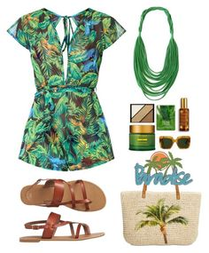 """""""Beach"""" by gicreazioni ❤ liked on Polyvore featuring Gap, Style & Co., Tata Harper, Forever 21, Elizabeth Arden, By Terry, Dolce&Gabbana, etsy, necklace and handmade"""