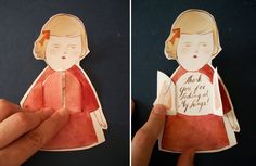 Kelsey Garrity-Riley Illustration  An inspiration for working secrets in arttherapy sesions.