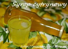 Lemon Syrup. Lemon Syrup