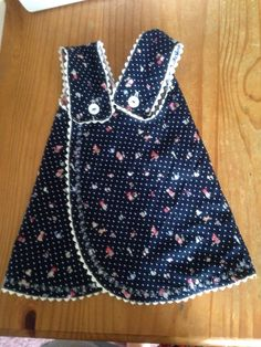 Blank slate patterns by melly sews. Criss cross pinafore dress pattern in age 3-6 months. With ric rac edging (first time sewing ric rac) is