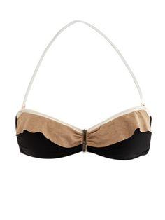 VIX Malindi ruffled bikini top