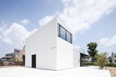 Built by APOLLO Architects & Associates in Hamamatsu, Japan with date 2013. Images by Masao Nishikawa. The client, who is a hair stylist/a salon owner, requested us to design a house with a hair salon. It is an exclusive...